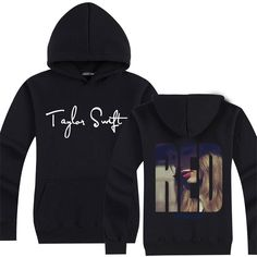 Taylor Swift RED new style pullove hoodie