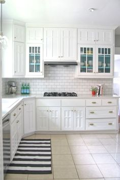 White vintage kitchen