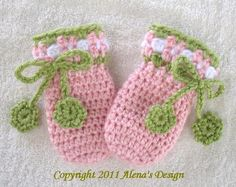 Crochet+Mitten+Patterns+Free+Baby | Crochet Blossom ... by AlenaByers | Crocheting Pattern