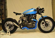 Honda CX500 by Barn Built Cafe Racer | monoshock swingarm | via silodrome.com