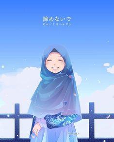 Boboiboy Anime, Kawaii Anime, Girl Cartoon Characters, Instagram Cartoon, Hijab Drawing, Muslim Pictures, Simple Anime, Mode Kawaii, Islamic Cartoon