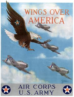 Wings Over America. U.S. Army Air Corps,