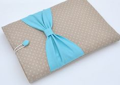 """13"""" MacBook Case, 13"""" MacBook Air Case, 13"""" MacBook Pro Retina Case,Laptop Case,Laptop sleeve, Bow ,PADDED, With Pocket For Ipad"""