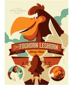 The Foghorn Leghorn - Variant – Tom Whalen