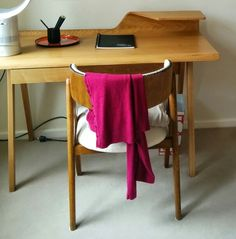 Compass desk and dining chair