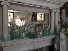 Antique and Vintage Aqua Bottles  Country Garden Antiques 147 Parkhouse  Dallas, TX 75207  Read our blog: http://countrygardenantique.blogspot.com/  Read more: http://dallas.ebayclassifieds.com/home-decor/dallas/antique-and-vintage-aqua-bottles/?ad=40064895#ixzz3eILI8Zdu