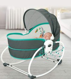 Cotton 【5 in 1, Free Conversion】Travel basket mode, detachable for use, easy to carry; Comfortable seat mode; Baby rocker chair mode; Baby bed mode; Cradle mode, simulating mother's embrace, so that the baby can fall asleep faster. 【Adjustable Front Wall】Press the buttons on both sides to lower the front wall. (The back of the baby chair is adjustable) Grab the rod of the back and lift it up. Five gears can fully meet the needs of the baby. Plush pendants can attract your baby's attention