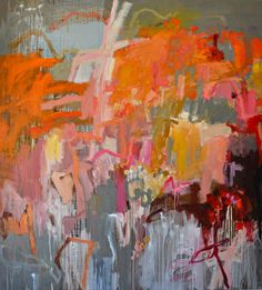 Jo Davenport Enchanted Evening 2013 Oil on linen 168 x Flinders Lane Gallery 03 9654 3332 Joan Mitchell, Abstract Painters, Abstract Art, Abstract Landscape, Art Abstrait, Colorful Paintings, Collage, Painting & Drawing, Amazing Art