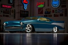 In terms of popular classic cars to customize and resto-mod, the #Chevrolet Bel Air pops up a lot.