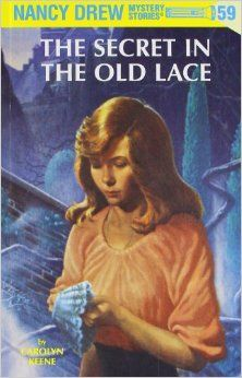 Nancy Drew has entered a contest to solve an old mystery-the disappearance of a Flemish nobleman, a pair of lace cuffs, and a priceless treasure. In a thrilling story shadowed by a romance of the past, Nancy solves a mystery over a hundred years i. Nancy Drew Series, Nancy Drew Books, Nancy Drew Mystery Stories, Mystery Books, Mystery Series, Books To Read, My Books, Cozy Mysteries, Classic Books