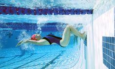 swimming - flip turn