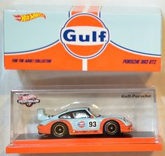 HOT WHEELS RLC 2016 GULF RACING PORSCHE 993 GT2 - I love this, but it's waaaay too expensive.