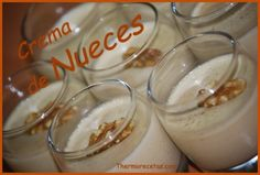 Crema de Nueces Thermomix