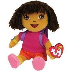 f84895c96c2 Ty Beanie Baby Dora the Explorer --- http   www.pinterest