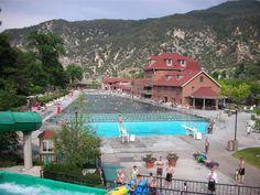 Glenwood Springs hot springs pool...I love love love this place!