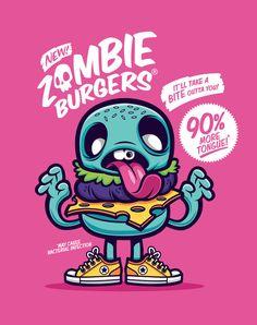 Zombie Burger1 by cronobreaker.deviantart.com on @deviantART