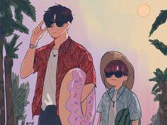 Lets go daddy Hyungwon, Yoonmin, Fanfiction, Jin, Taehyung, Boyxboy, Bts Fans, Bulletproof Boy Scouts, Kpop Fanart