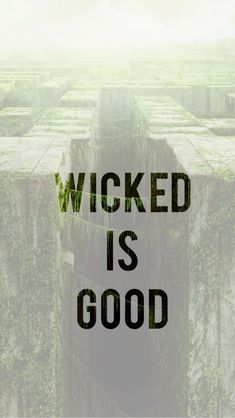 I think wicked meant for the best but they just had trouble trying to get to where they were going. It just took to long.