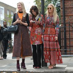 London Fashion Week (Spring/Summer 2016) - Part 4 of 5.