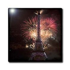 "14th July, Batille Day, Eiffel Tower, Paris, France - EU09 DBN0563 - David Barnes - 12 Inch Ceramic Tile by 3dRose. $22.99. Construction grade. Floor installation not recommended.. Dimensions: 12"" H x 12"" W x 1/4"" D. High gloss finish. Clean with mild detergent. Image applied to the top surface. 14th July, Batille Day, Eiffel Tower, Paris, France - EU09 DBN0563 - David Barnes Tile is great for a backsplash, countertop or as an accent. This commercial quality constr..."