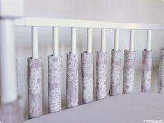 Gitterstabpolster fürs Babybett nähen