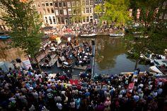 canal festival every jear prinsengracht