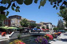 Isle sur la Sorgue - Town of the Vaucluse - France - Provence Web