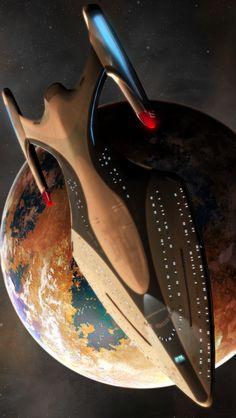 Star Trek: Proteus Class Starship.