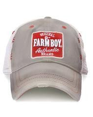 Your guy will look oh-so-cool in this mesh-back cap that has a rural-style patch and distressed brim. Mens Hat Store, Baseball Cap Outfit, Baseball Hats, Vintage Baseball Caps, Cap Girl, Farm Boys, Mesh Cap, Red Logo, Cowgirl Boots