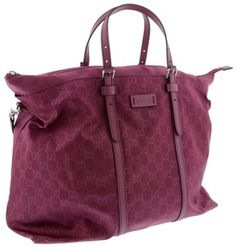 Gucci Nylon Guccissima Light Duffle Peonia Messenger Bag  Perfect as a carry on bag.