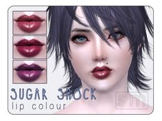 Screaming Mustard's [ Sugar Shock ] - Lip Colour