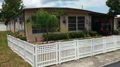 Resin Garden Fence Gvf3232 The Home Depot