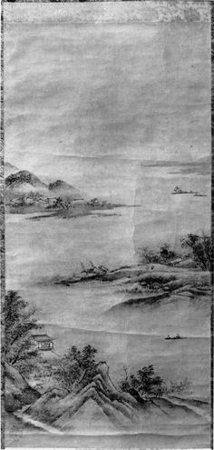Attributed to Kano Motonobu | Landscape | Japan | Muromachi period (1392–1573) | The Met