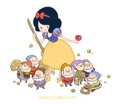 Adventure Time x Snow White by patabot.deviantart.com on @deviantART