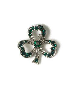 Vintage Shamrock Green Rhinestone Brooch Pin St. Patricks Paddys Day | Jewelry & Watches, Fashion Jewelry, Pins & Brooches | eBay!