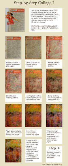 Collage Tutorial: Background by *hogret on deviantART