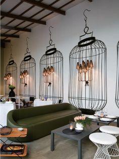 Salone Internazionale del Mobile furniture fair's Home Delicate Restaurant in Milan, Italy.