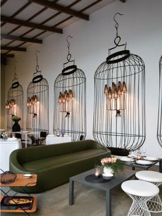 Salone Internazionale del Mobile furniture fair's Home Delicate Restaurant in Milan, Italy.