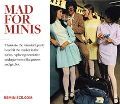 Mad for Minis: The miniskirt rebellion of the 1960s (Reminisce Magazine) ~ Baby Doll style