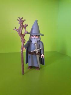 "Custom ""Gandalf the Grey"" Lego Figures, Action Figures, Ghostbusters Toys, Lego Custom Minifigures, Hobby Craft, Plastic Doll, Gandalf, Heart For Kids, Winter House"