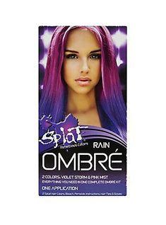 Splat Semi-Permanent Rain Ombre Hair Dye Kit,