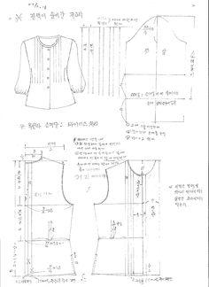 Ampliación de imagen - patrón de vida hanbok femenino - hanbok vida maendeuri