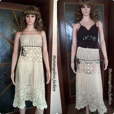Mariana Geleva : Long elegant skirt ''NONA''
