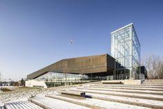 Vista general. Biblioteca Boisé por Lemay. Señala la imagen para verla más grande.