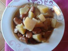 Soupe de fèves et de pommes de terre Fruit Salad, Or, Conch, Sicily, Food, Recipes, Fruit Salads