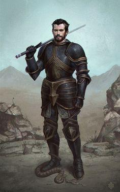 Knight by GerryArthur.deviantart.com on @DeviantArt