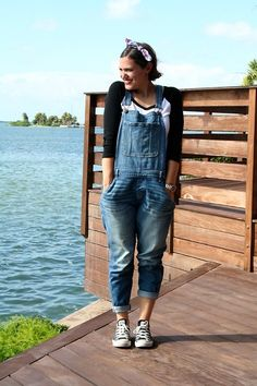 Get this look: http://lb.nu/look/6533076  More looks by MELA D.: http://lb.nu/thatisamore  Items in this look:  Abercrombie & Fitch Overall, Converse Sneakers   #florida #overall