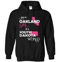 Oakland-South Dakota - #tee box #cool tshirt. OBTAIN LOWEST PRICE => https://www.sunfrog.com//Oakland-South-Dakota-4826-Black-Hoodie.html?68278