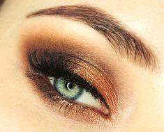 Chocolate and caramel. by szafkaaa on Makeup Geek
