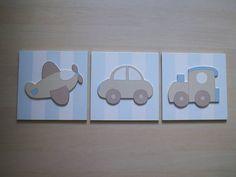 Trio de quadros em madeira MDF, com aplicações em madeira MDF.  O valor se refere aos tres quadrinhos. R$ 69,00